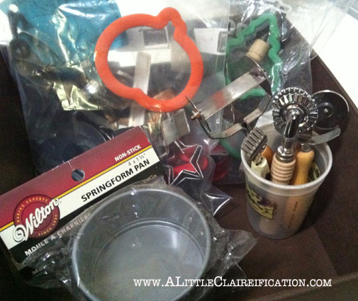 The Organized Baker at ALittleclaireification.com #baking #bakingsupplies #tarts #cookies #foodie #kitchen