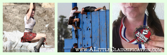 Mud Run Fun at ALittleClaireification.com #highlander #mudrunfun #race