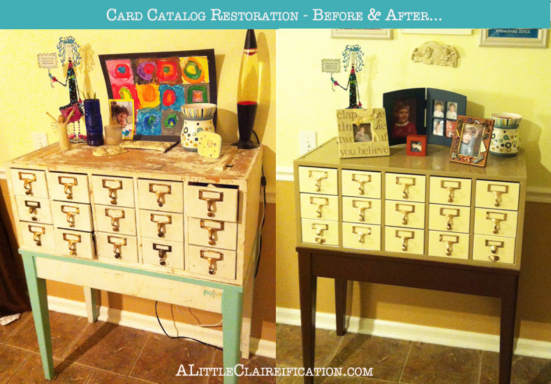 Card Catalog Restoration