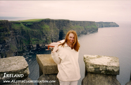 Cliffs of Moher with ALittleClaireification.com #travel