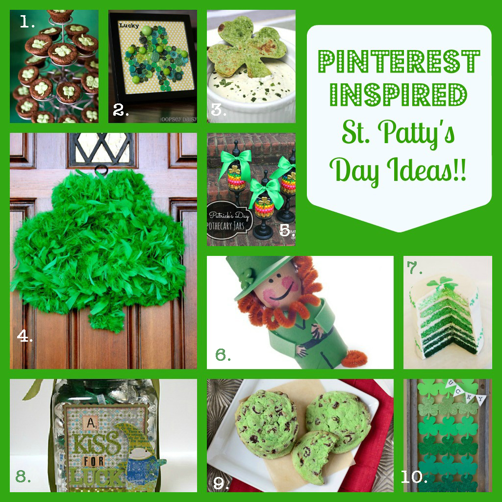 St. Patrick's Day Crafts & Recipes: Pinterest Inspired Fun