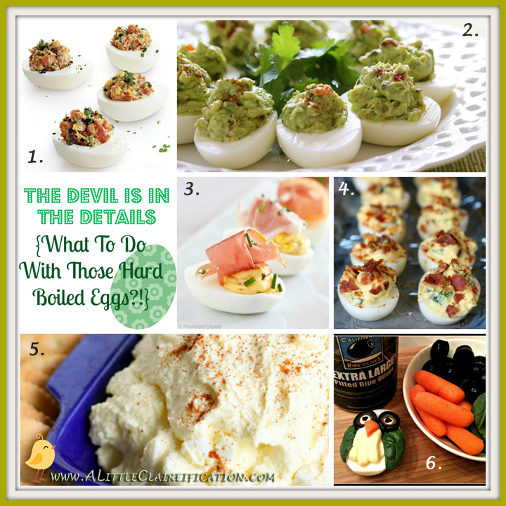 Deviled Eggs Recipe Round-Up w/ ALittleClaireification.com #eggs #recipes #Easter @ALittleClaire