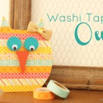 Spring Fling: Washi Tape Owl {Day #3}