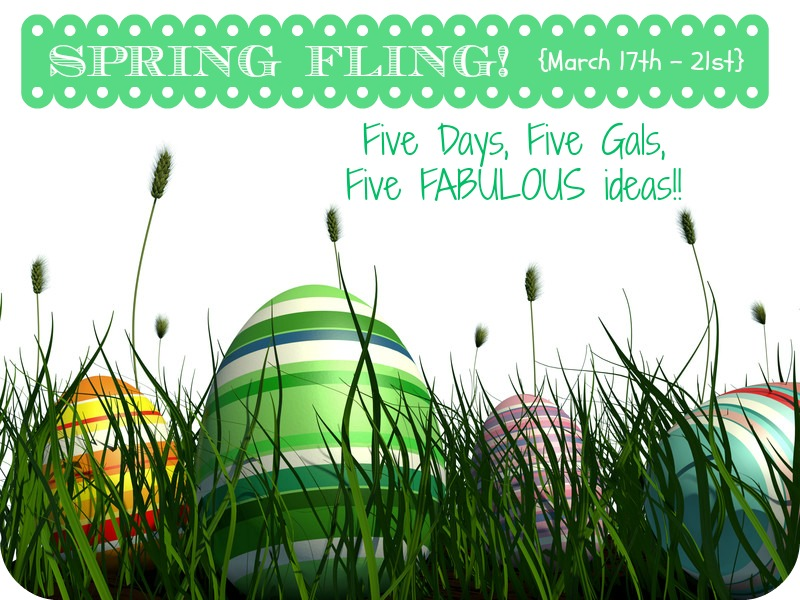 Spring Fling Series with ALittleClaireification.com #crafts #Easter #DIY