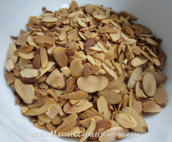 Almond Twists with ALittleClaireification.com #recipes #desserts #almonds