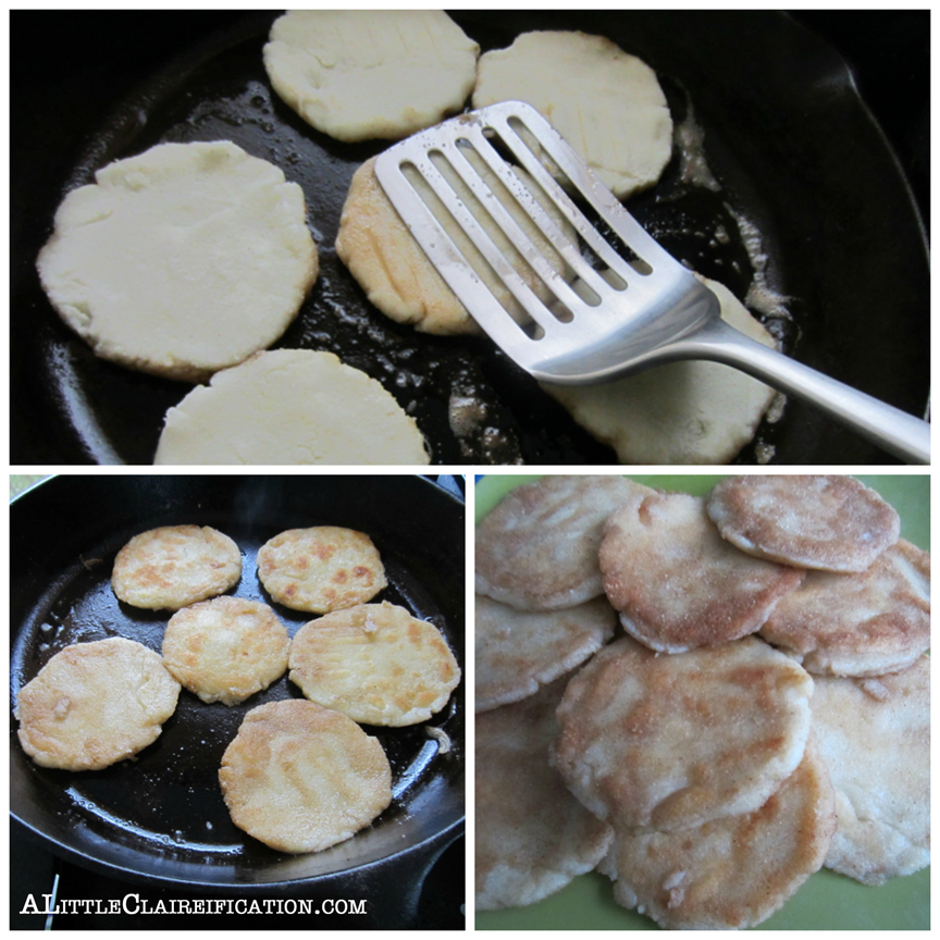 Chicken Arepas Recipe with ALittleClaireification.com #recipes #arepas @alittleclaire