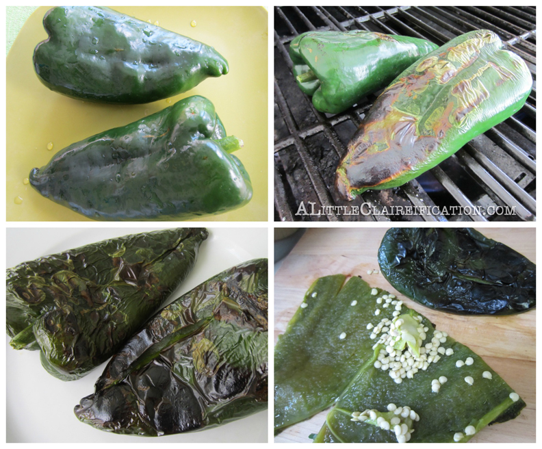 Chiles Rellenos Cakes {Cinco De Mayo Recipe} with ALittleClaireification.com #recipes #foodie @alittleclaire
