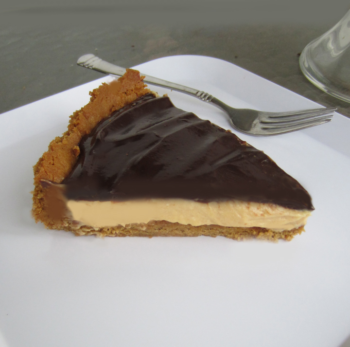 ... butter cookie tart crust peanut butter honey tart with ganache glaze