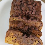 Chocolate Pumpkin Zucchini Bread