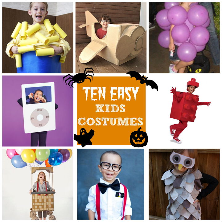 Last Minute Halloween Costumes For Kids - A Little ...