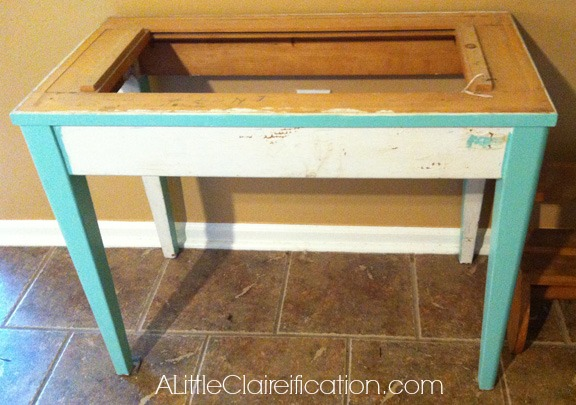 Antique Card Catalog Restoration with A LittleClaireification.com #antiques #restoration