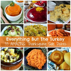33 Thanksgiving Side Dishes