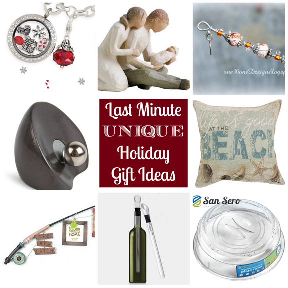 Last Minute Unique Holiday Gifts at ALittleClaireification.com #Holidays #Gifts #GiftIdeas