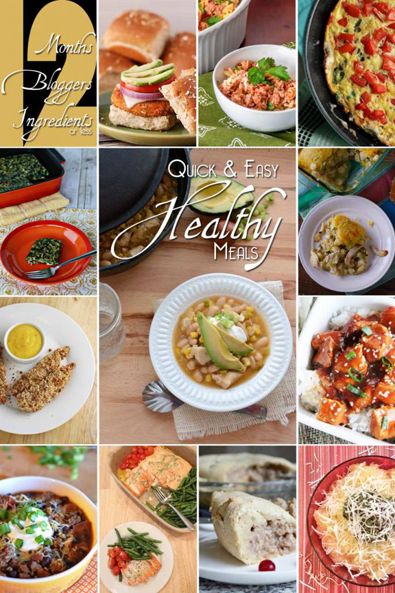 12 Quick & Easy Healthy Meals with ALittleClaireification.com #healthy #crockpot #recipes #chinese