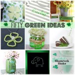 50 Green Collage