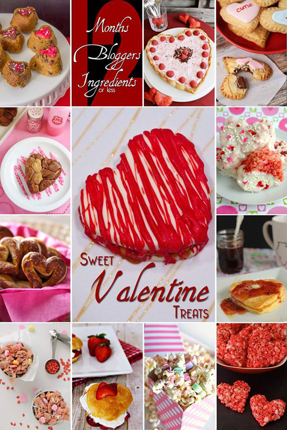 Heart Shaped Desserts with ALittleClaireification.com #Recipe #Valentines #Raspberry #12Bloggers