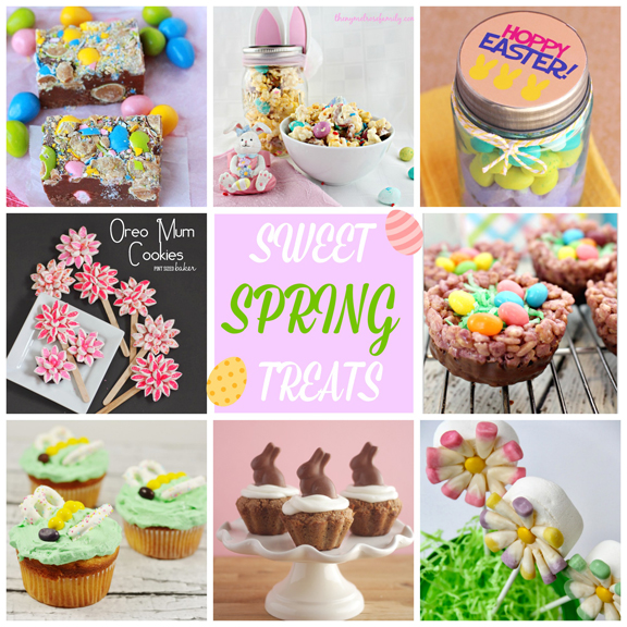 Sweet Spring Treats at ALittleClaireification.com #Easter #Recipe #Dessert