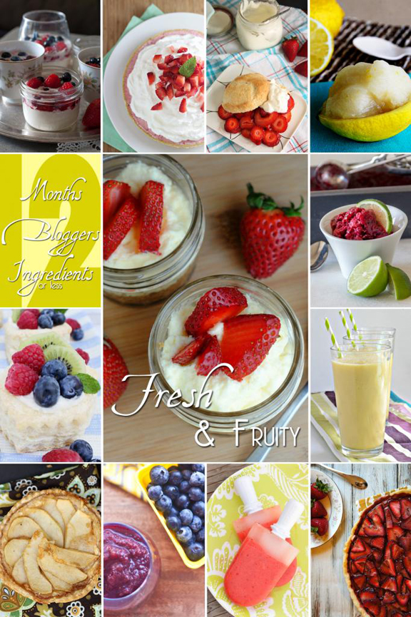 12 Fruit Desserts For May at ALittleClaireification.com #recipe #desserts #Brunch