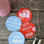 Let Freedom Ring | Free 4th Of July Hangtag Printables