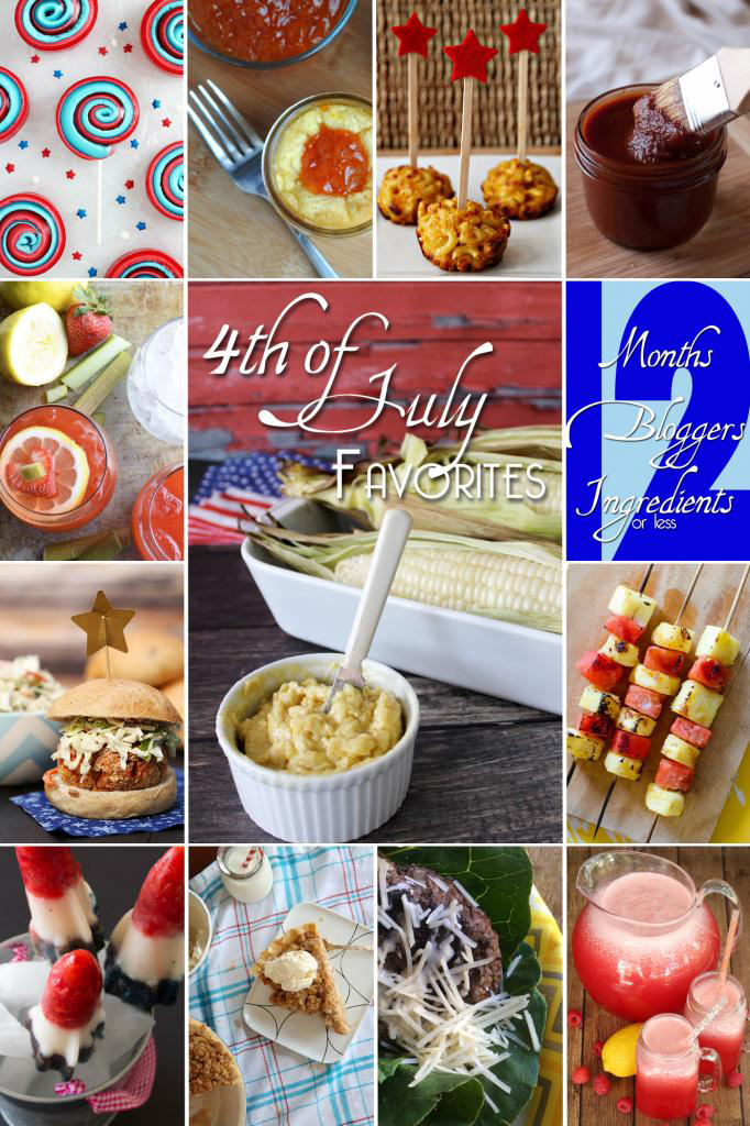 4th Of July Inspired Recipes #Cookout #BBQ