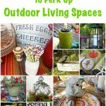 10 Ways To Perk Up Outdoor Living Spaces | Ms. Toody Goo Shoes