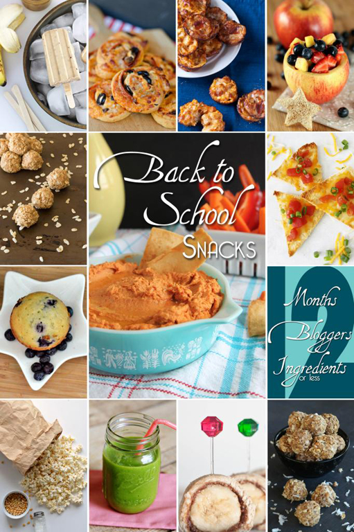 Easy Back To School Snacks #12Bloggers