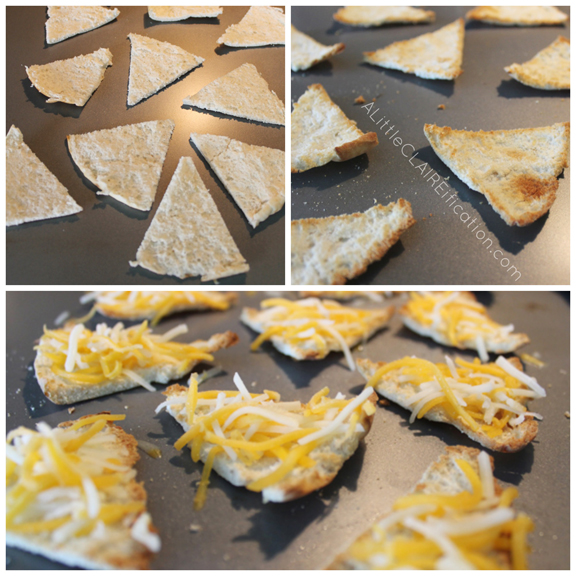 Easy Pita Nachos - An Easy Back To School Snack