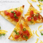 Easy Pita Nachos | Back To School Snacks