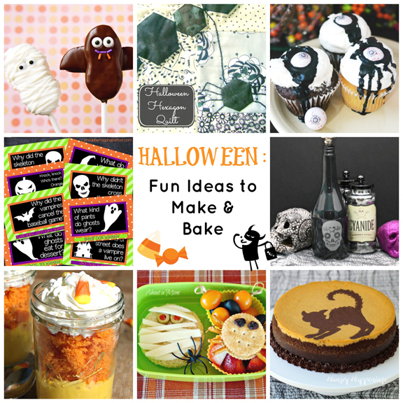 Halloween Crafts and Recipes - Ideas To Make and Bake