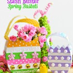 Stash Buster Spring Baskets |Spring Craft Ideas