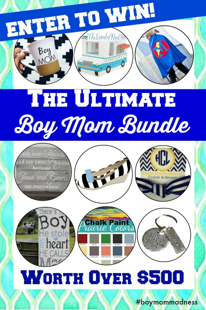 Enter to Win Boy Mom Giveaway
