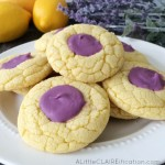 Lavender Lemon Cake Cookies | Baking With Essential Oils