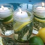 DIY Summer Mason Jar Luminaries | Summer In Jars