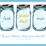 Free Pixie Dust Mason Jar Printable | Summer In Jars Series