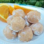 White Chocolate Orange Truffles