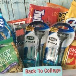 A Back To College Care Package (and stop taking my razor!)