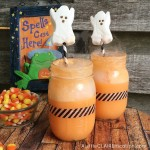 Creamsicle Ghost Floats | Halloween In A Jar Series Kick-Off