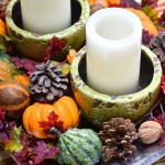 A Five Minute Fall Centerpiece | Ms. Toody Goo Shoes