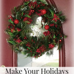 Our New Holiday Wreath and a Wreath Depot Giveaway