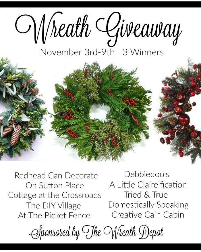 Wreath Depot Giveaway - November 3rd-9th