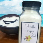 Infused Vanilla Sugar | Gifts In A Jar
