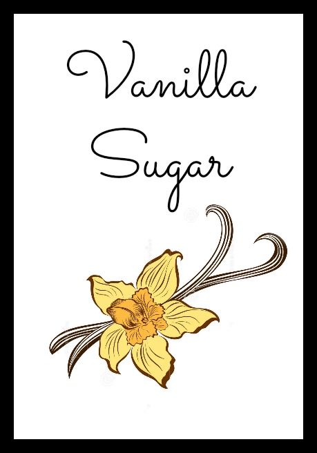 Vanilla Sugar Labels