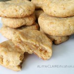 Savory Cheddar Shortbread Cookies / National Shortbread Day