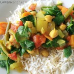Slow Cooker Vegetable Chickpea Curry