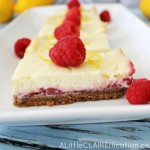 When Life Gives You Lemon Raspberry Cheesecake Bars