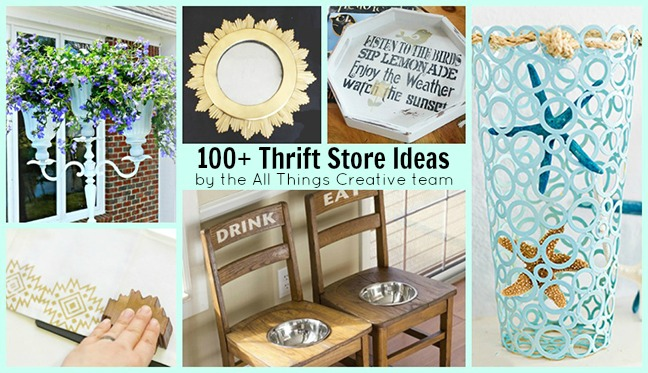 100 Thrift Store Makeovers and Ideas