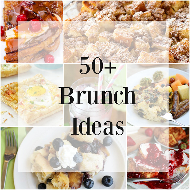 50 Delicious Brunch Ideas