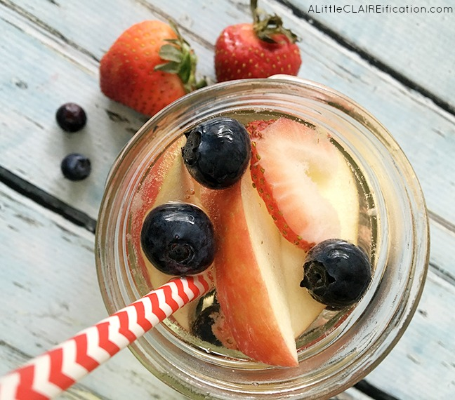 Red White and Blue Summer Sangria - 2