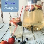Red White and Blue Summer Sangria