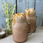 Salted Caramel Cafe Mocha Smoothie